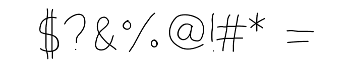 HighYield Font OTHER CHARS