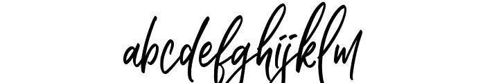 Higher Style Font LOWERCASE