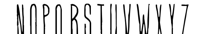 Higher Than High Font UPPERCASE