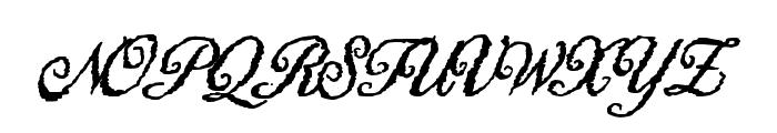 HigherBounties Font UPPERCASE
