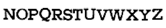 HigherPixels Font UPPERCASE
