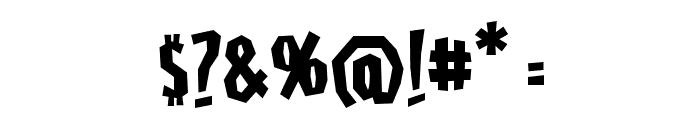 HighjinksBB Font OTHER CHARS