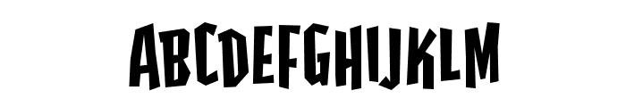HighjinksBB Font UPPERCASE