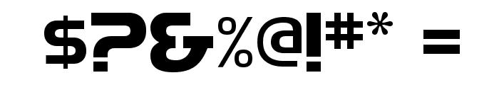 HighlandGothicFLF-Bold Font OTHER CHARS