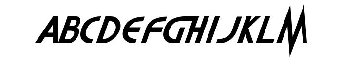 Highlander Font UPPERCASE