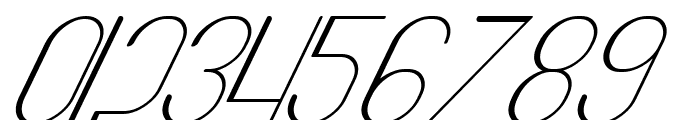 Highway Italic Font OTHER CHARS