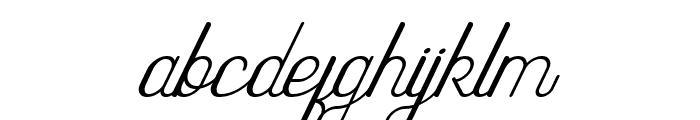 Highway Italic Font LOWERCASE