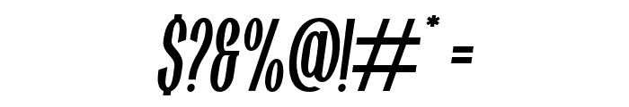 Highwind-Italic Font OTHER CHARS