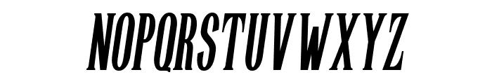 Highwind-Italic Font UPPERCASE