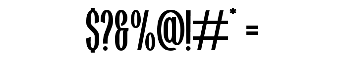 Highwind Font OTHER CHARS