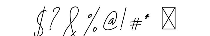 Hiliana Font OTHER CHARS