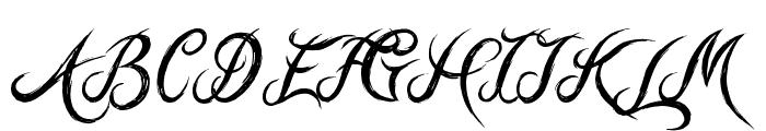 Hill Billies Font UPPERCASE