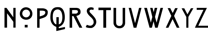HillHouse Font UPPERCASE