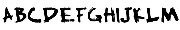 HillWilliam Font UPPERCASE