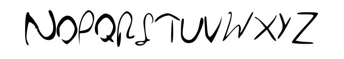 Hillary Font UPPERCASE