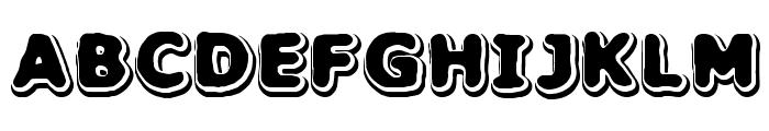 Hillock BRK Font UPPERCASE