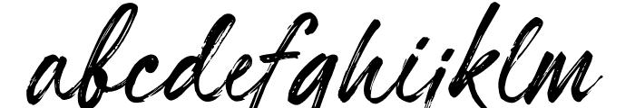 Hillstone Font LOWERCASE