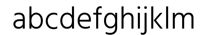 Hind Kochi Light Font LOWERCASE