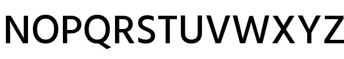Hind Medium Font UPPERCASE