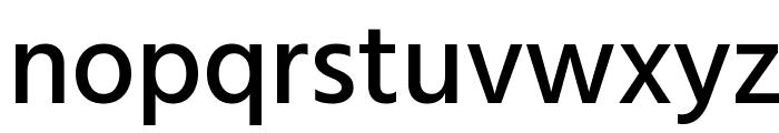 Hind Medium Font LOWERCASE