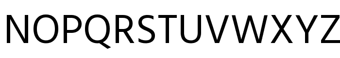 Hind Regular Font UPPERCASE