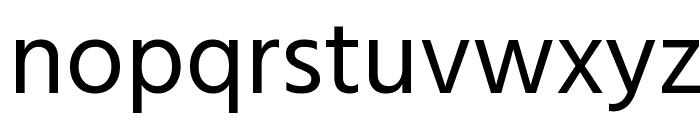 Hind Regular Font LOWERCASE