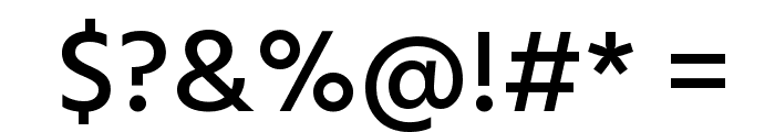 Hind Siliguri Medium Font OTHER CHARS