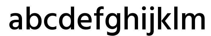 Hind Siliguri Medium Font LOWERCASE