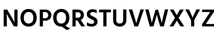 Hind Siliguri SemiBold Font UPPERCASE