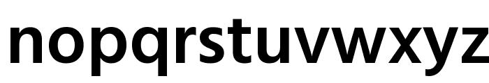 Hind Siliguri SemiBold Font LOWERCASE