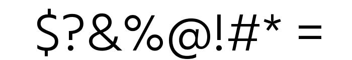 Hind Vadodara Light Font OTHER CHARS