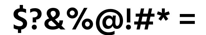 Hind Vadodara SemiBold Font OTHER CHARS