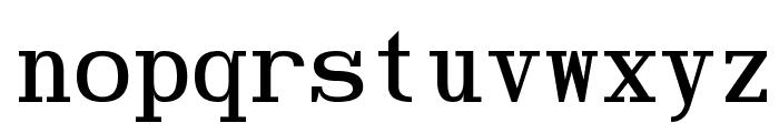 Hindsight Monospace Regular Font LOWERCASE