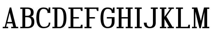 Hindsight Unicode Regular Font UPPERCASE