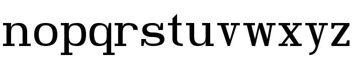 Hindsight Unicode Regular Font LOWERCASE