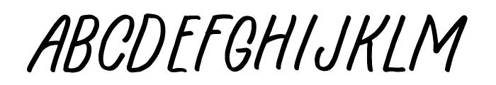Hingar Bingar Font UPPERCASE