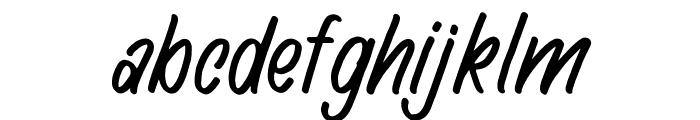Hingar Bingar Font LOWERCASE