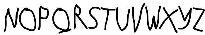 Hingehudelt-Bold Font UPPERCASE