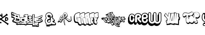 Hip Hop Lab1 Font UPPERCASE