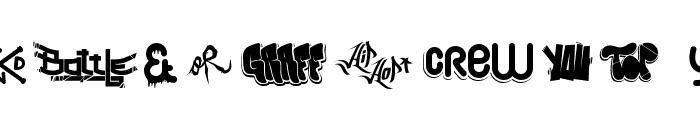 Hip Hop Lab1 Font LOWERCASE