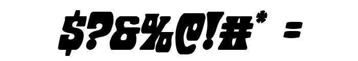 Hip Pocket Condensed Italic Font OTHER CHARS