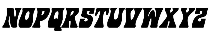 Hip Pocket Condensed Italic Font UPPERCASE