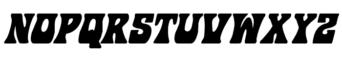 Hip Pocket Condensed Italic Font LOWERCASE