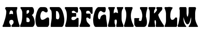Hip Pocket Condensed Font UPPERCASE