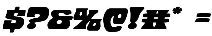 Hip Pocket Expanded Italic Font OTHER CHARS