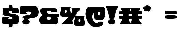 Hip Pocket Expanded Font OTHER CHARS