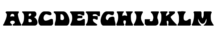 Hip Pocket Expanded Font UPPERCASE