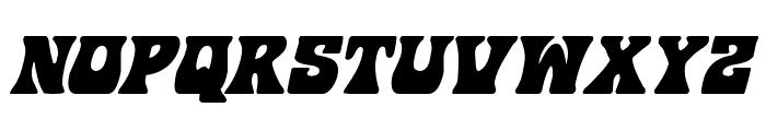 Hip Pocket Italic Font UPPERCASE