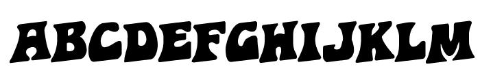 Hip Pocket Rotalic Font UPPERCASE