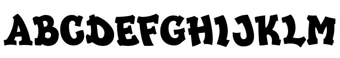 HipHopDemi Font UPPERCASE